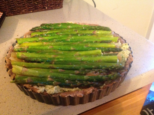 Spring Into the Season With A Delightful Asparagus Tart