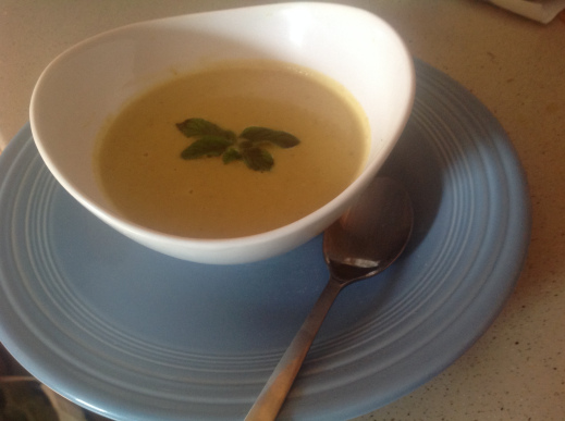 Mamma's Cauliflower Soup With a Twist