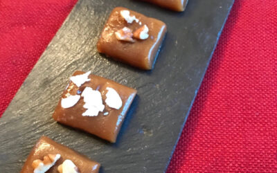 Homemade caramels to bring you holiday happiness