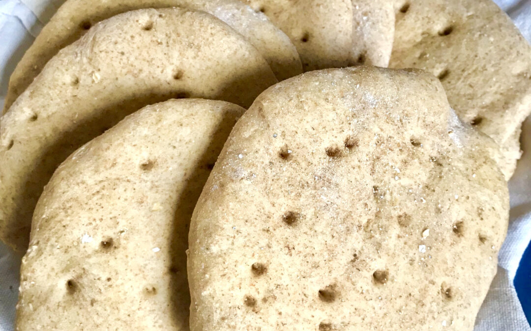 Polarbrød; Scandinavia's pita bread