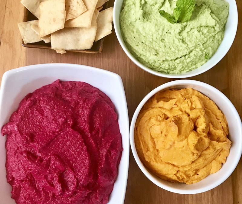 Hummus Trio (because all good things are three)