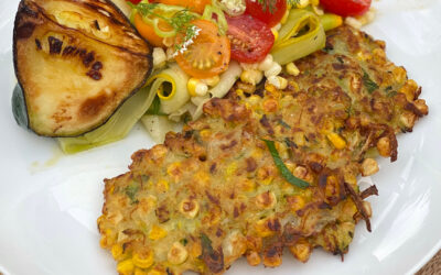 Corn & Zucchini Fritters